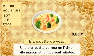 Blanquette veau