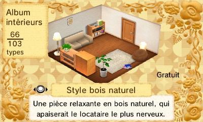 Bois naturel