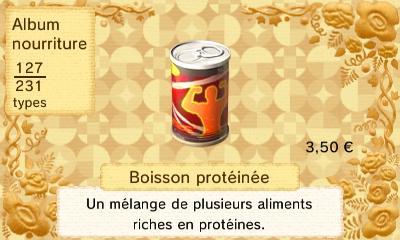 Boisson proteinee