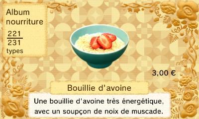 Bouillie d avoine