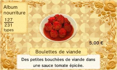 Boulettes viande