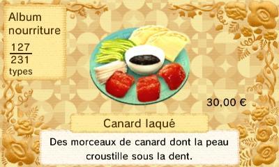 Canard laque
