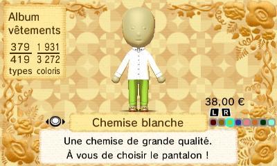 Chemise blanche