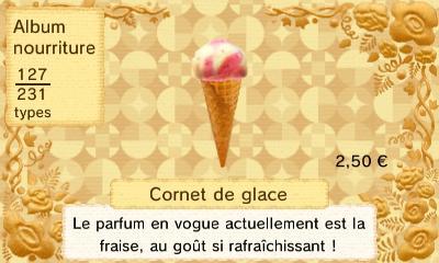 Cornet glace