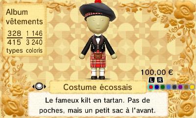 Costume ecossais