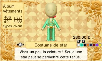 Costume star