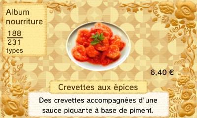 Crevette aux epices
