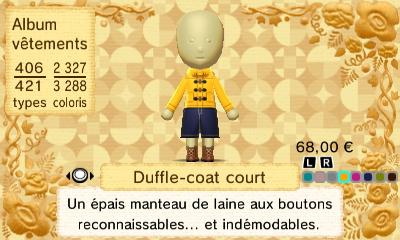 Duffle coat court
