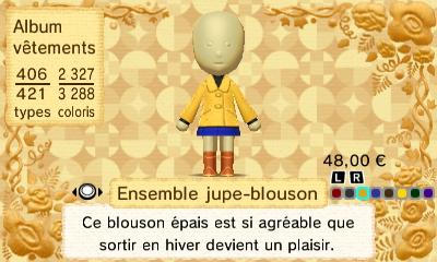 Ensemble jupe blouson