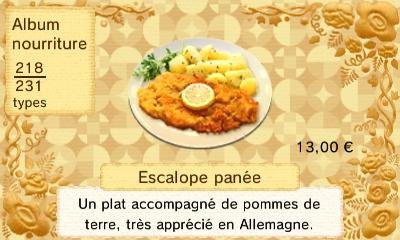 Escalope panee
