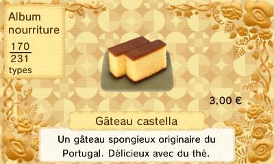 Gateau castella