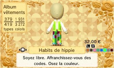 Habites de hippie