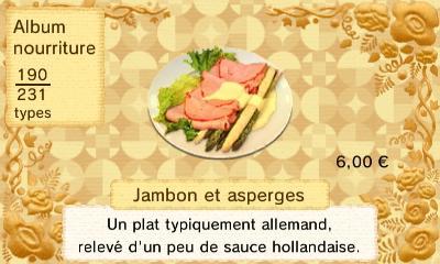 Jambon asperge