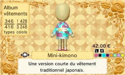 Mini kimono