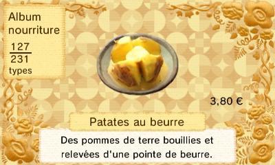 Patates beurre