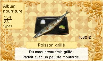 Poisson grille