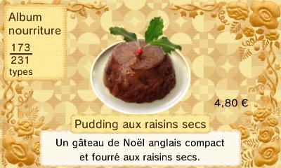 Puddinf raisins