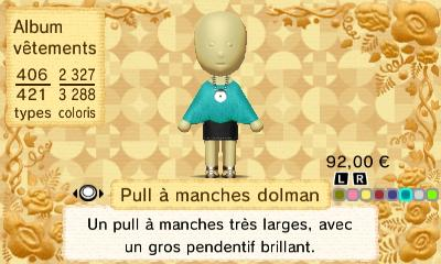 Pull a manches dolman