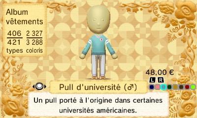 Pull universite h