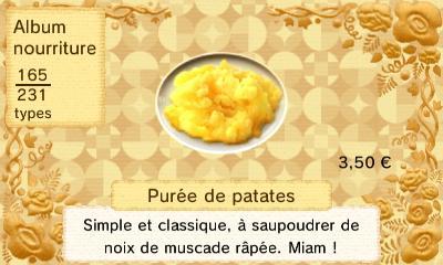 Puree patate