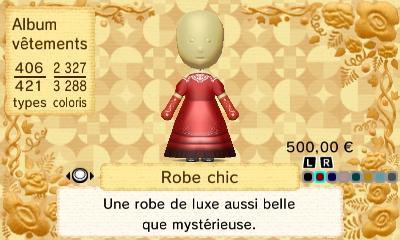 Robe chic 1