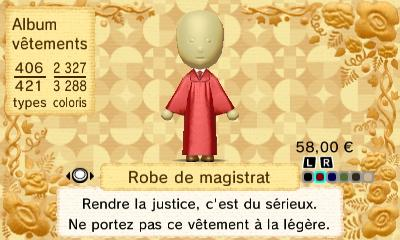 Robe magistrat