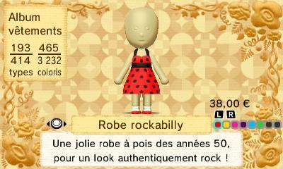 Robe rockability