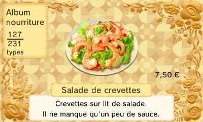 Salade crevettes