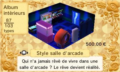 Salle arcade