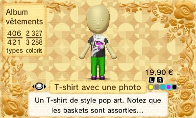 T shirt avec photo