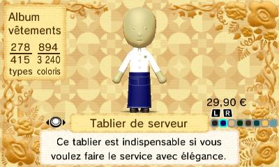 Tablier serveur