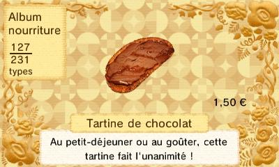 Tartine chocolat