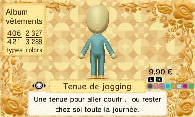 Tenue de jogging