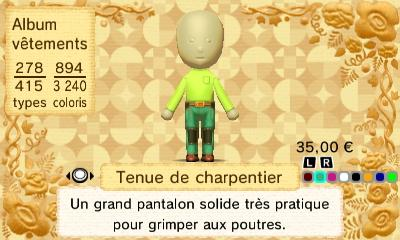 Tenur charpentier