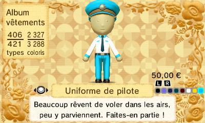 Uniforme pilote