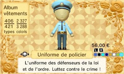 Uniforme policier