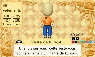 Veste kung fu